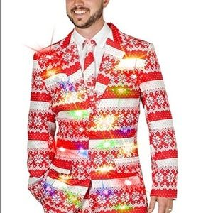 Life of the Party Ugly Christmas Sweater Jacket